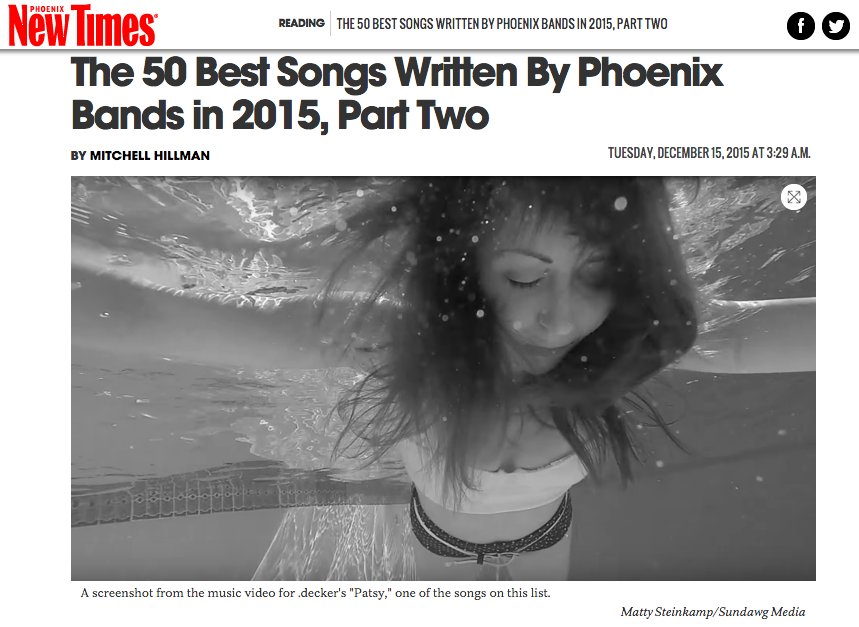 Bear Ghost Wrote on of the 50 Best Written Songs