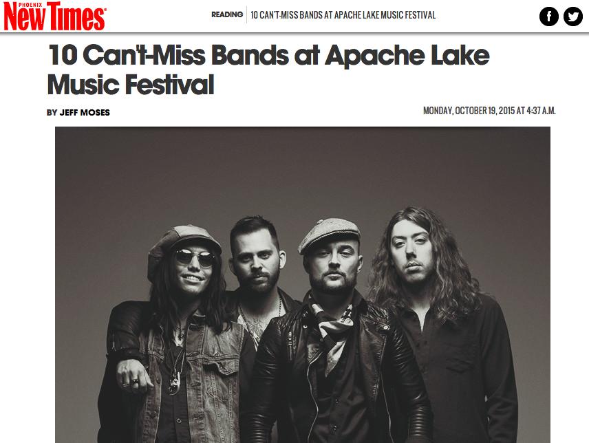Bear Ghost at Apache Lake Music Festival